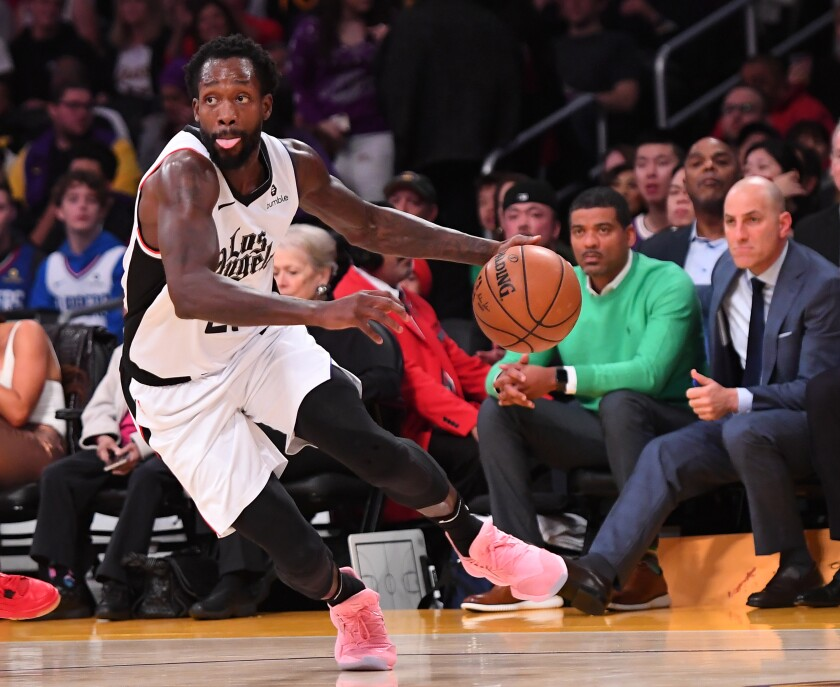 Clippers Patrick Beverley To Miss Tilt With Kings Los