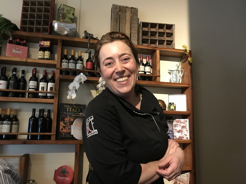 Ciccia chef Francesca Penoncelli puts her heart into every dish. We missed her cooking.