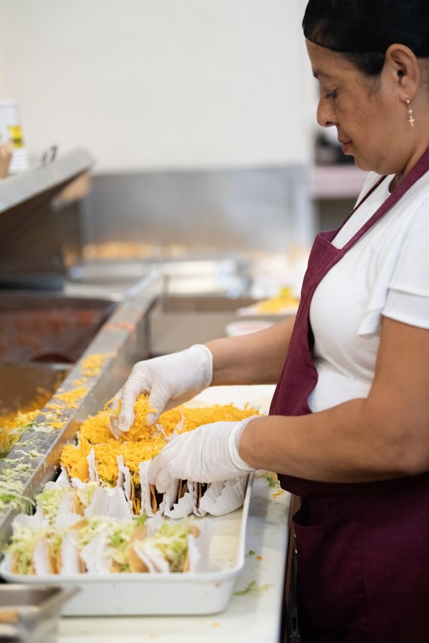Inside Tito's Tacos