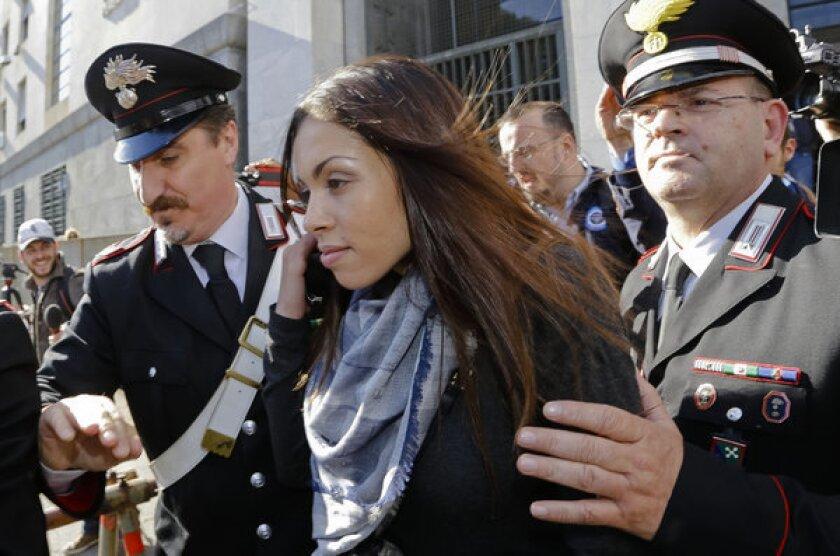Italian court told about Berlusconi's 'bunga bunga' parties