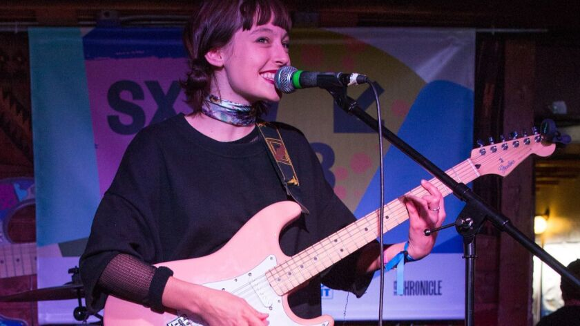 Stella Donnelly in Austin, Texas, as part of the South by Southwest festival and conference.