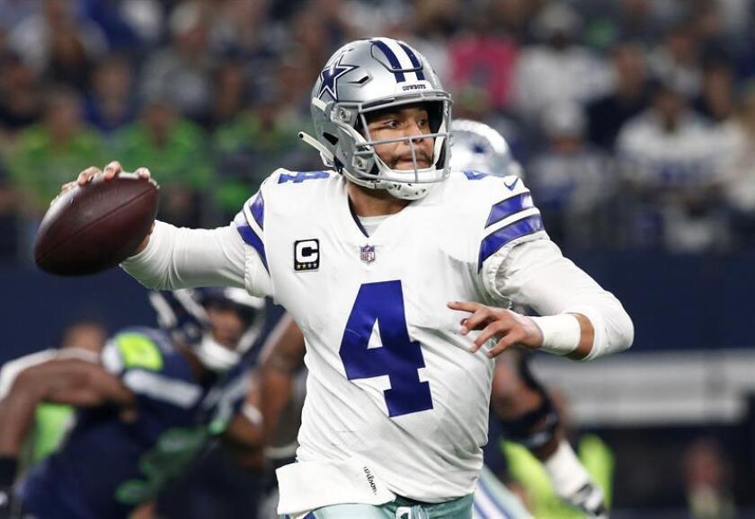 21-31. Prescott mantiene invictos a los Cowboys y logra marca individual
