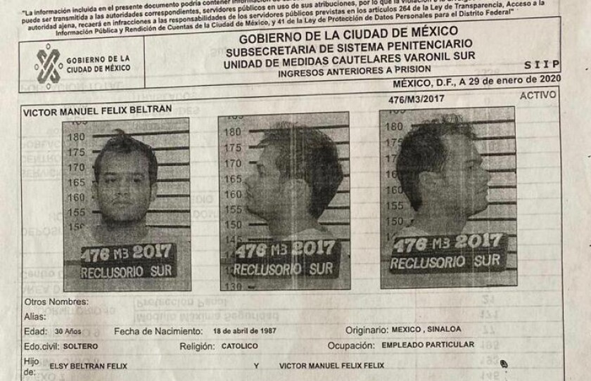 Three inmates facing U.S. extradition driven out of Mexico City jail by guards