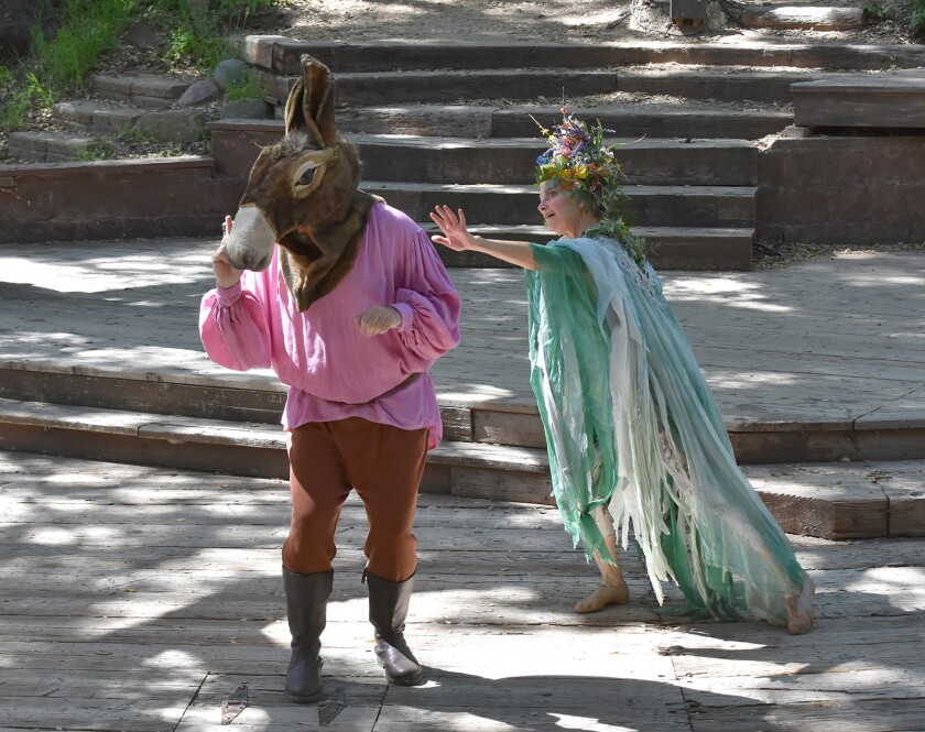 A Midsummer Night's Dream Will Geer's Theatricum Botanicum