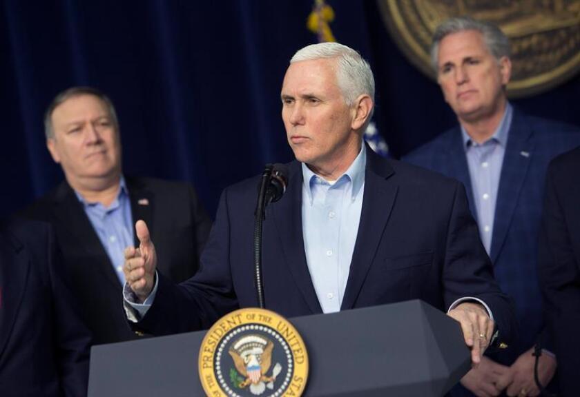 Estados Unidos aclaró hoy que su delegación en los Juegos Olímpicos de Invierno de PyeongChang (Corea del Sur), encabezada por el vicepresidente Mike Pence, no planea ninguna reunión con funcionarios norcoreanos. EFE/Archivo