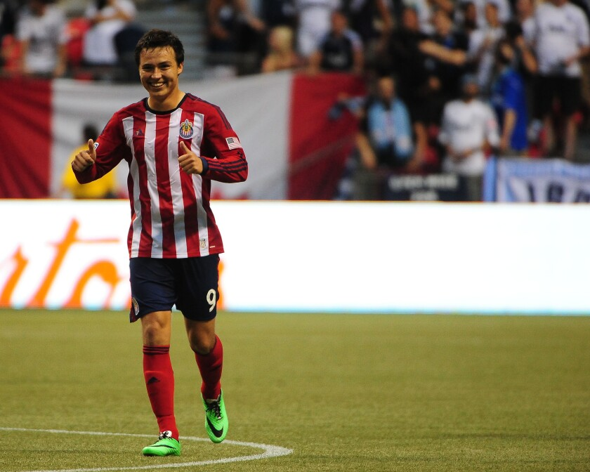 Erick Torres, de Chivas.