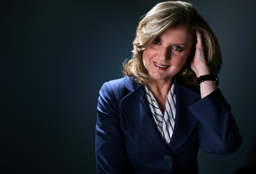 Arianna Huffington to take Third Metric event on the road