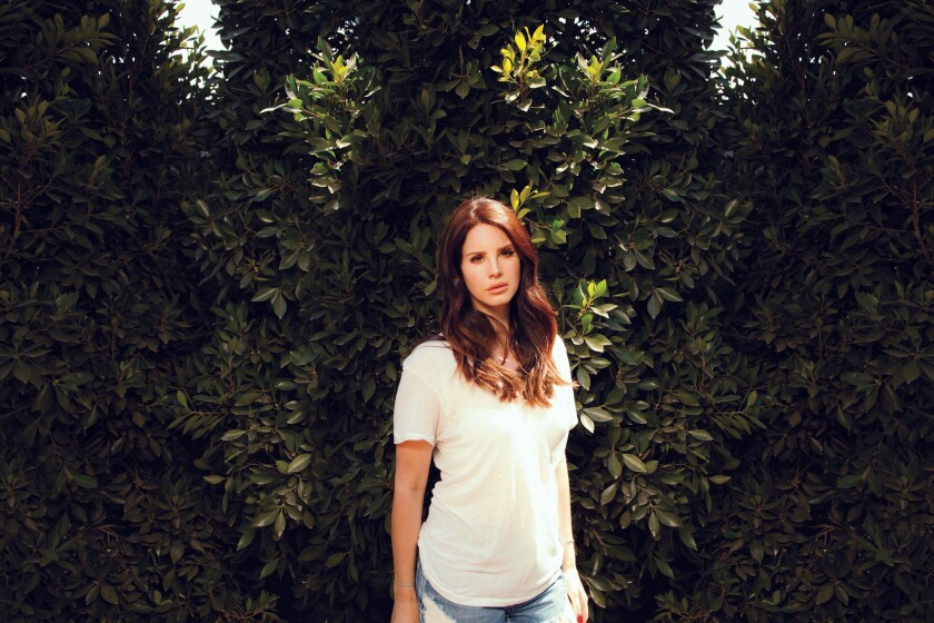 This was Lana Del Rey's second time performing in her beloved hometown in six months.