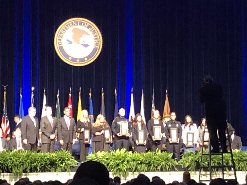 Attorney General awards in Washington D.C.