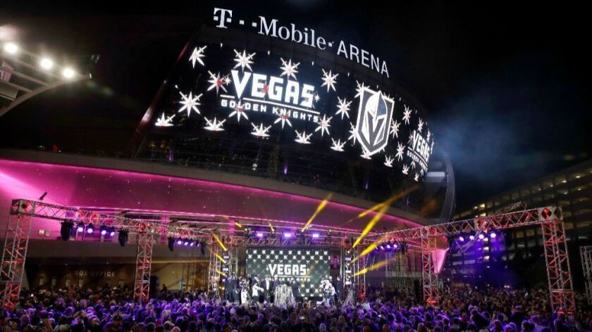After a some glitches, it's the Golden Knights for the NHL's newest team