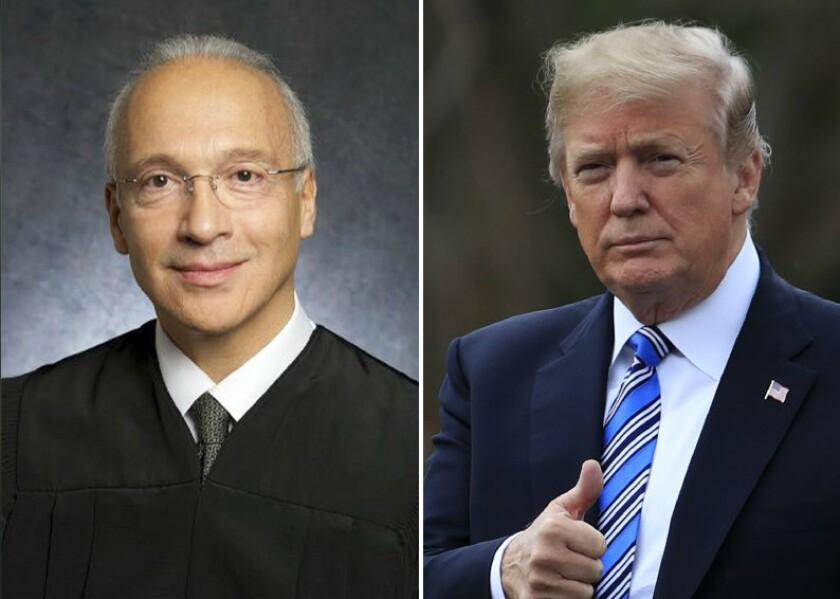 Trump and Curiel