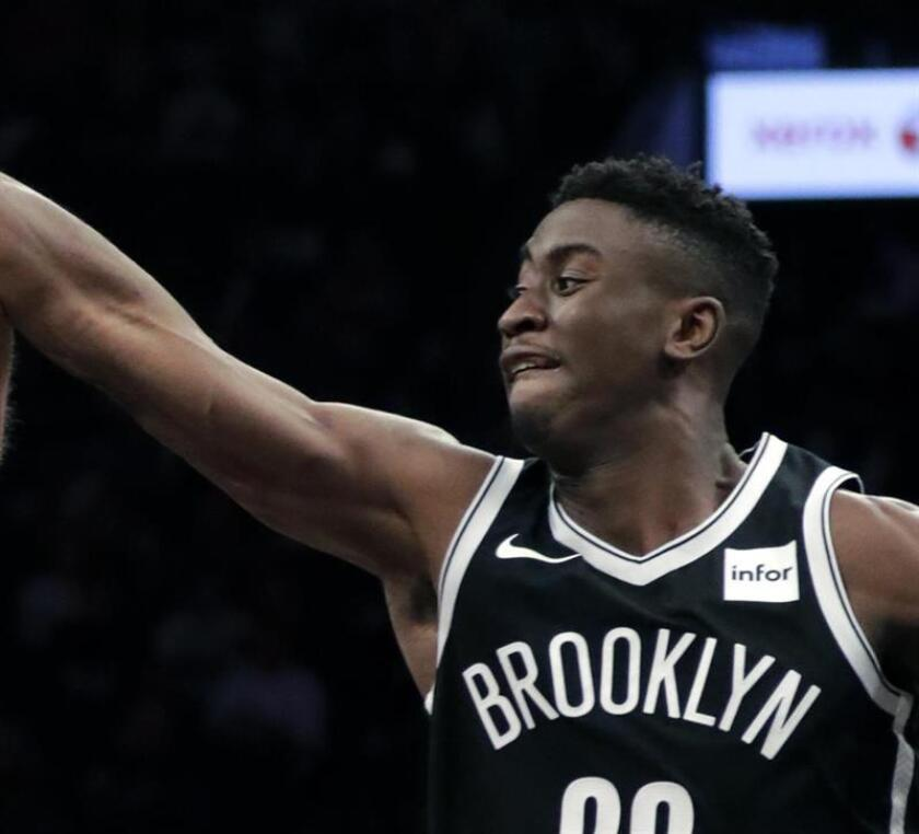 Brooklyn Nets guard Caris LeVert in the second half of the NBA basketball game. EFE/Archivo