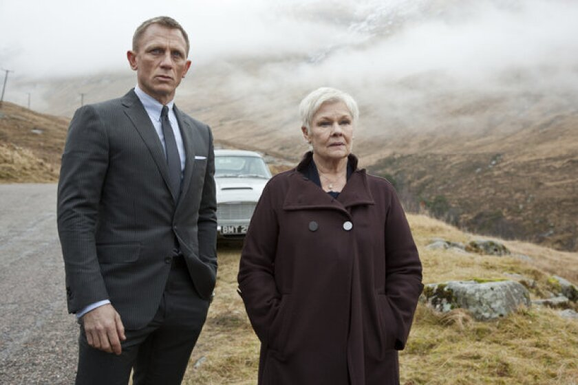 Movie review: 'Skyfall' shows James Bond still sharp and fit at 50 ...