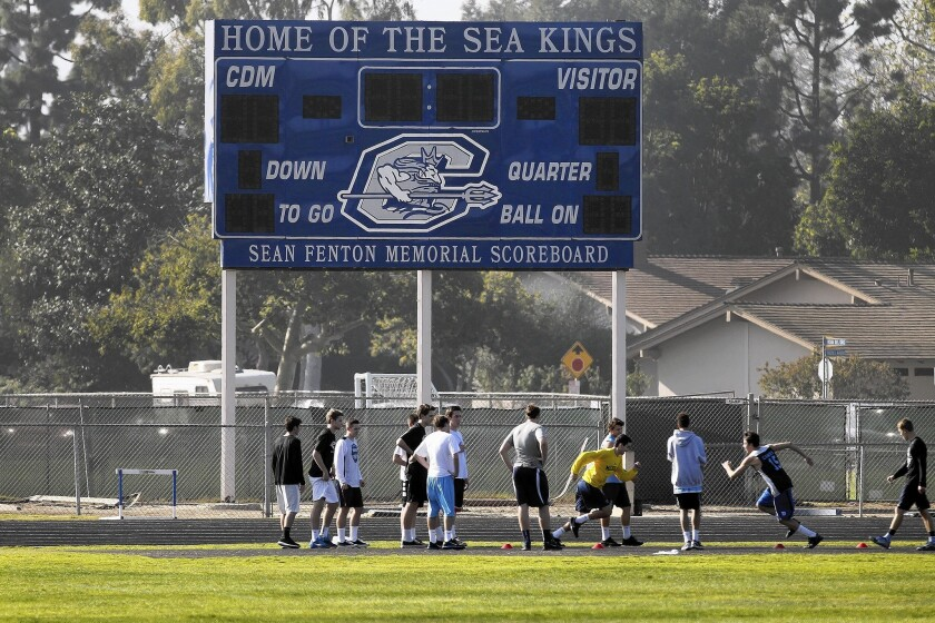 "Plagued by a cheating scandal in March, Corona del Mar High School is now facing questions about a student ""tradition"" where boys pick their prom dates through a football-style draft."