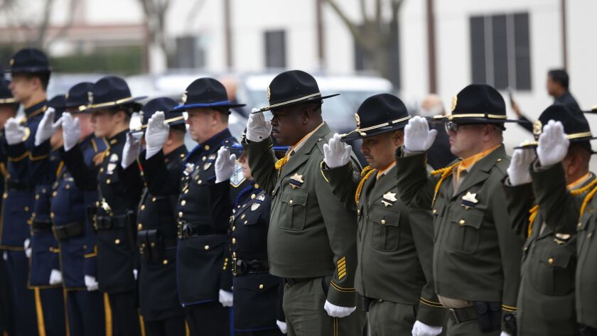 Funeral Held For Stanislaus County, California Police Corporal Ronil Singh Killed During Traffic Stop By Undocumented Immigrant