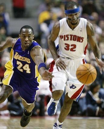 Kobe Bryant, Richard Hamilton