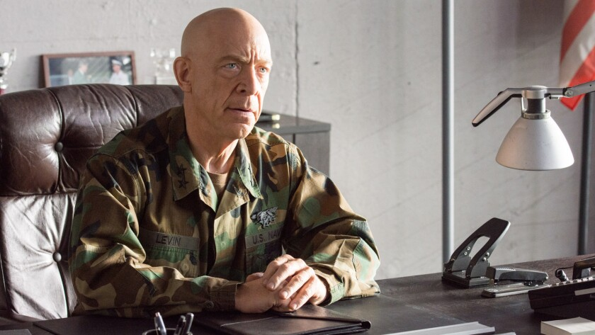 """J.K. Simmons in the movie """"American Renegades."""""""