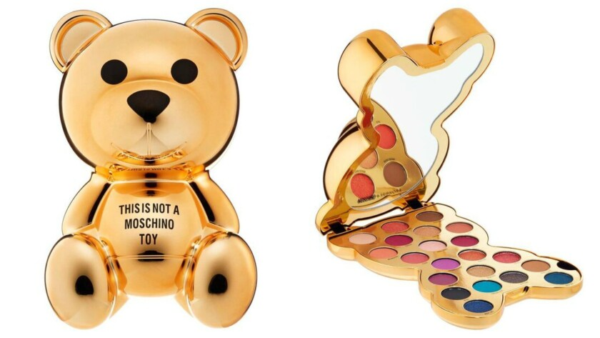 Moschino + Sephora Limited-Edition Collection bear eye-shadow palette.