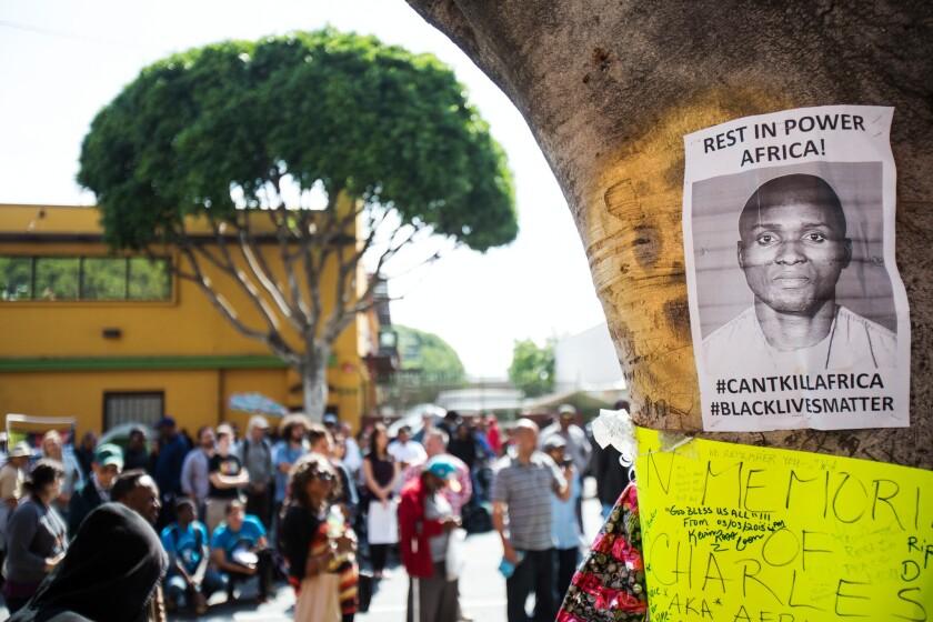 Memorial for Charly Leundeu Keunang