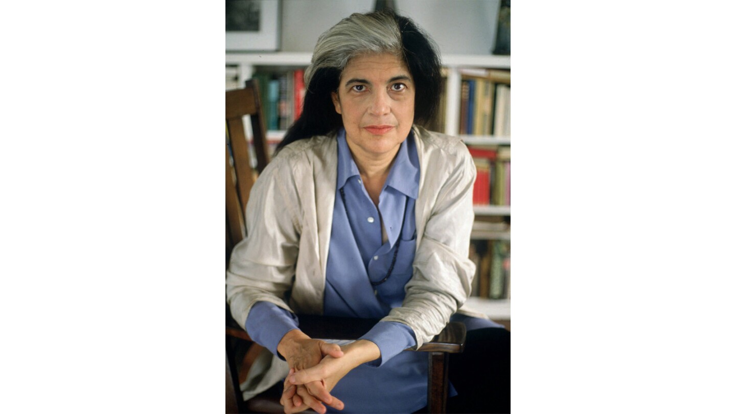 Susan Sontag, writer and intellectual, died Dec. 28, 2004, at age 71.