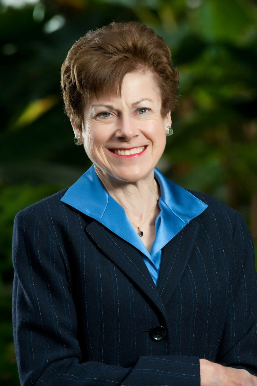 Lynn Reaser, economist, Point Loma Nazarene University. Photo Courtesy of: Point Loma Nazarene University