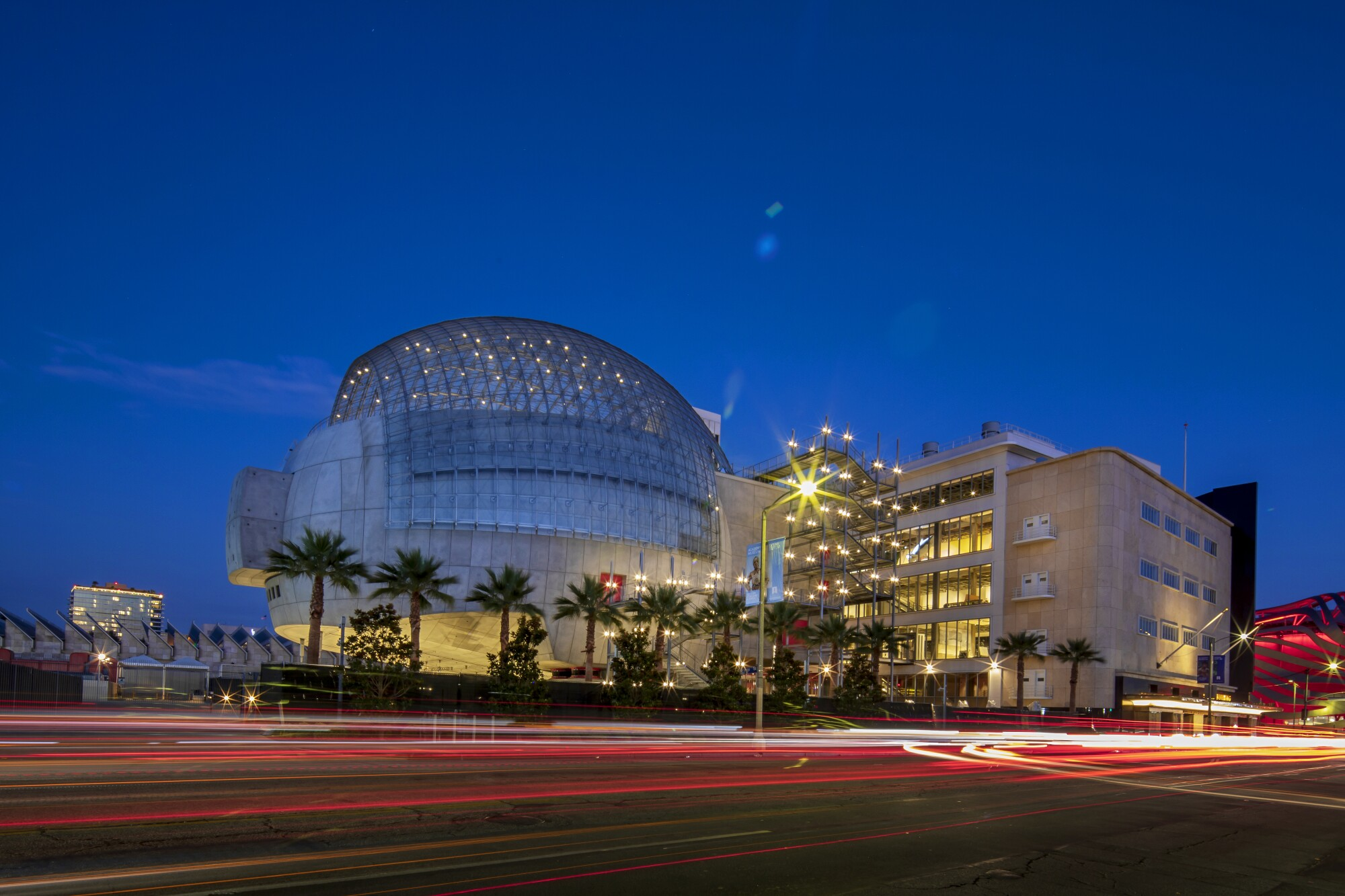 The new Academy Museum of Motion Pictures in Los Angeles.