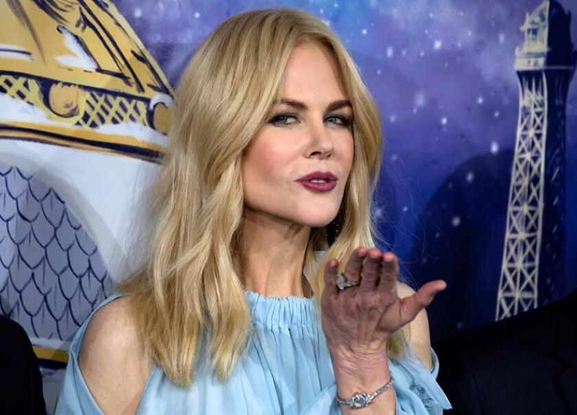 Fotografía de la actriz australiana Nicole Kidman. EFE/Archivo