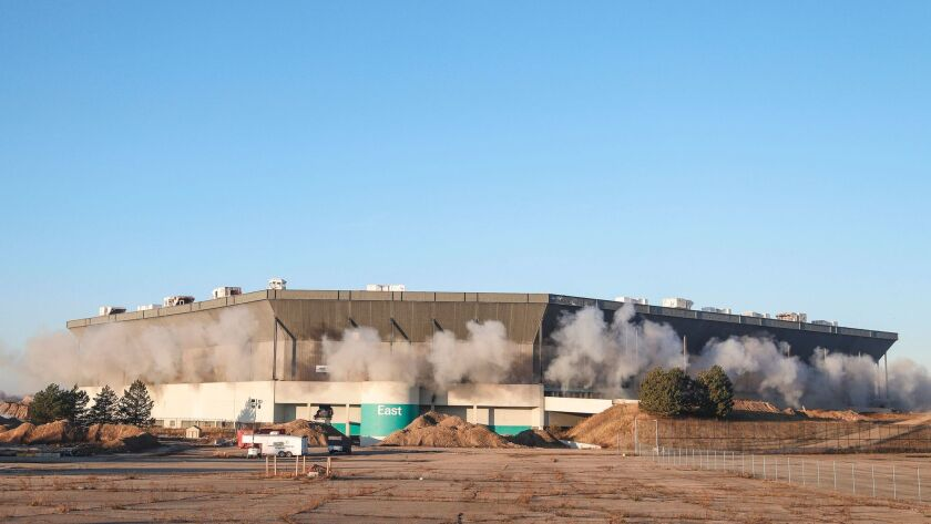 Attempt to implode the Silverdome in Michigan fails