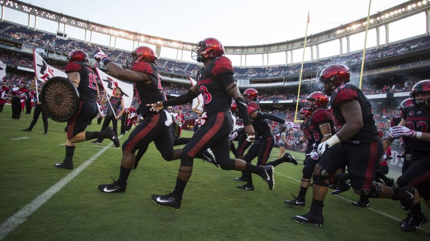 One of the first glimpses of the 2018 San Diego State football team will come during a Fan Fest scrimmage on Aug. 18 at SDCCU Stadium.