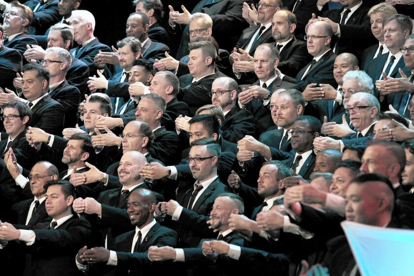 Gay Men's Chorus of Los Angeles to perform at Alex Theatre in Glendale