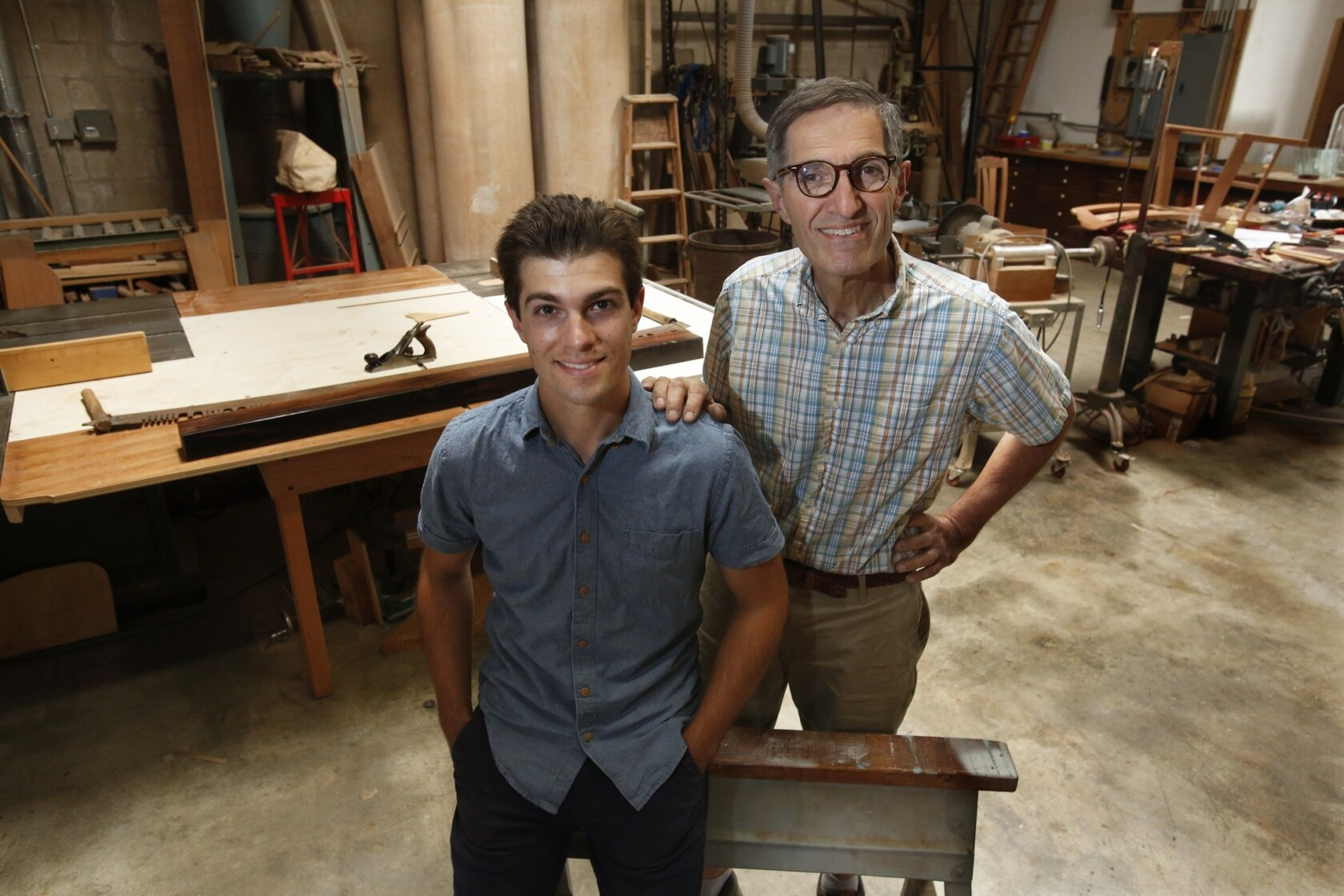 Woodworking Father Restores Pasadena Bungalows Son Carves Own Path Los Angeles Times