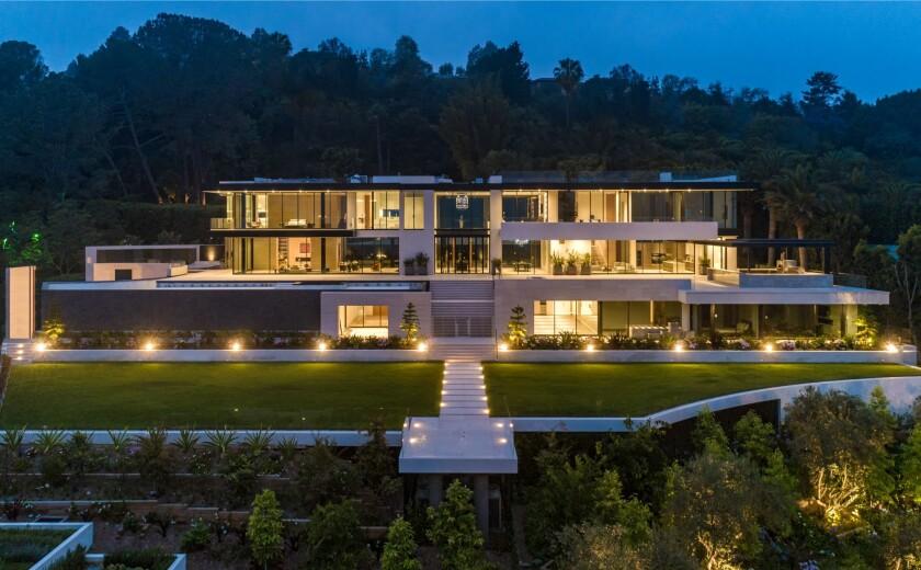 The 34,000-square-foot spec mansion.