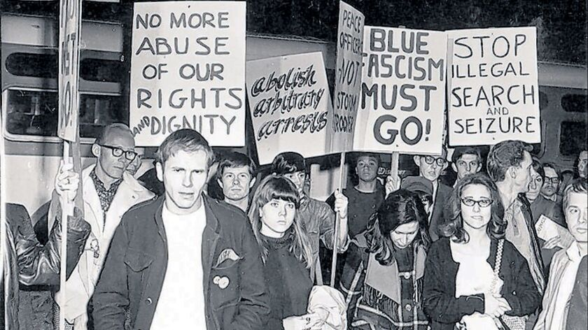 ********PHOTO FOR A TRAVEL STORY ON JUNE 9******** 1967 Black Cat Protest. E–mail from Narinda Heng,