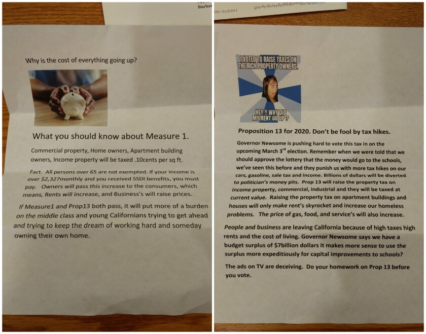 FPPC complaint mailers