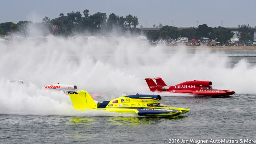 AutoMatters & More: Boat Racing on San Diego'
