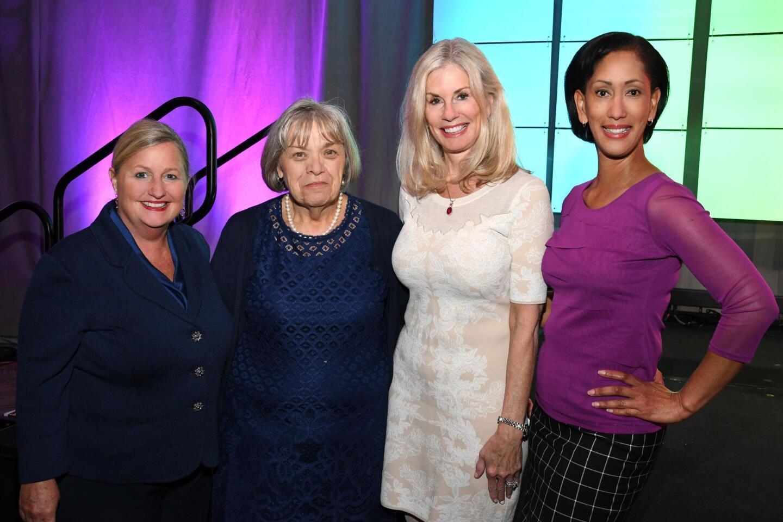 Kathy Summers, Mary Elington, Dr. DeAnn Cary, Sonia Ortiz