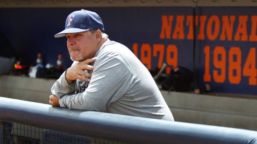 Coach Rick Vanderhook and Cal State Fullerton will hit the road, instead of host a regional, when the NCAA tournament opens play later this week.