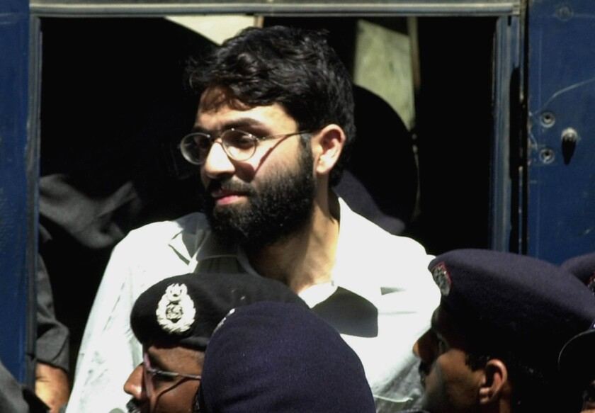 Ahmed Omar Saeed Sheikh, the alleged mastermind behind the killing of Wall Street Journal reporter Daniel Pearl