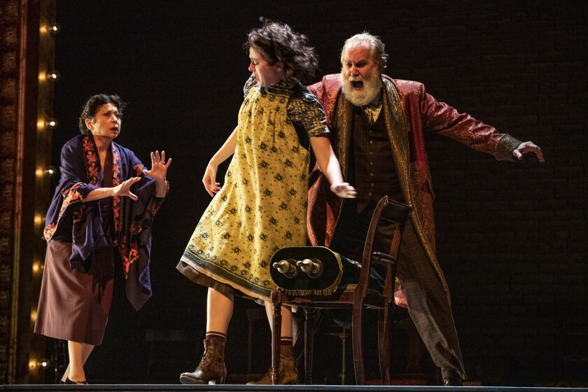 Review: 'Indecent' at the Ahmanson pays haunting tribute to