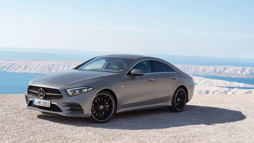 Mercedes-Benz CLS, 2017, Edition 1 designo selenitgrau magno, Leder Nappa Schwarz Mercedes-Benz CLS,