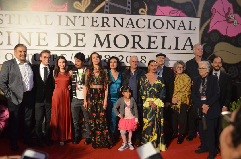 Exhibición de la cinta Sonora en el Festival de Cine de Morelia en 2018