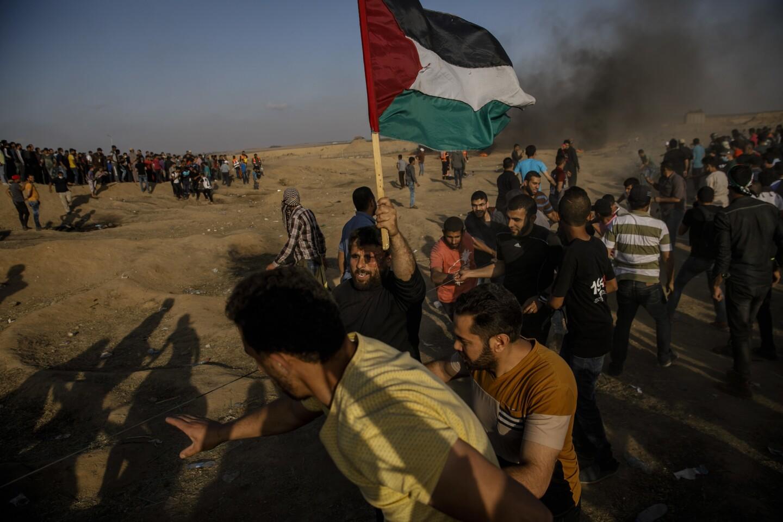 Gaza border protest