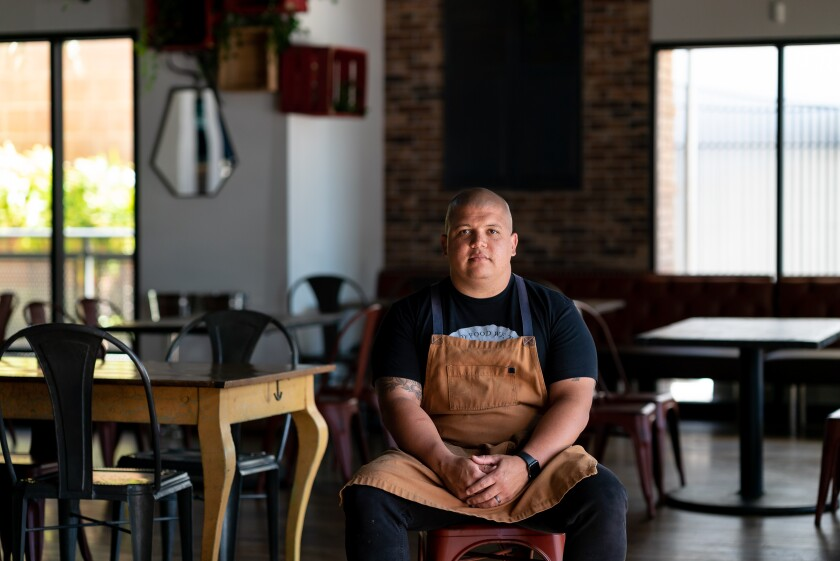 Brad Wise, executive chef and owner of Trust Restaurant Group.