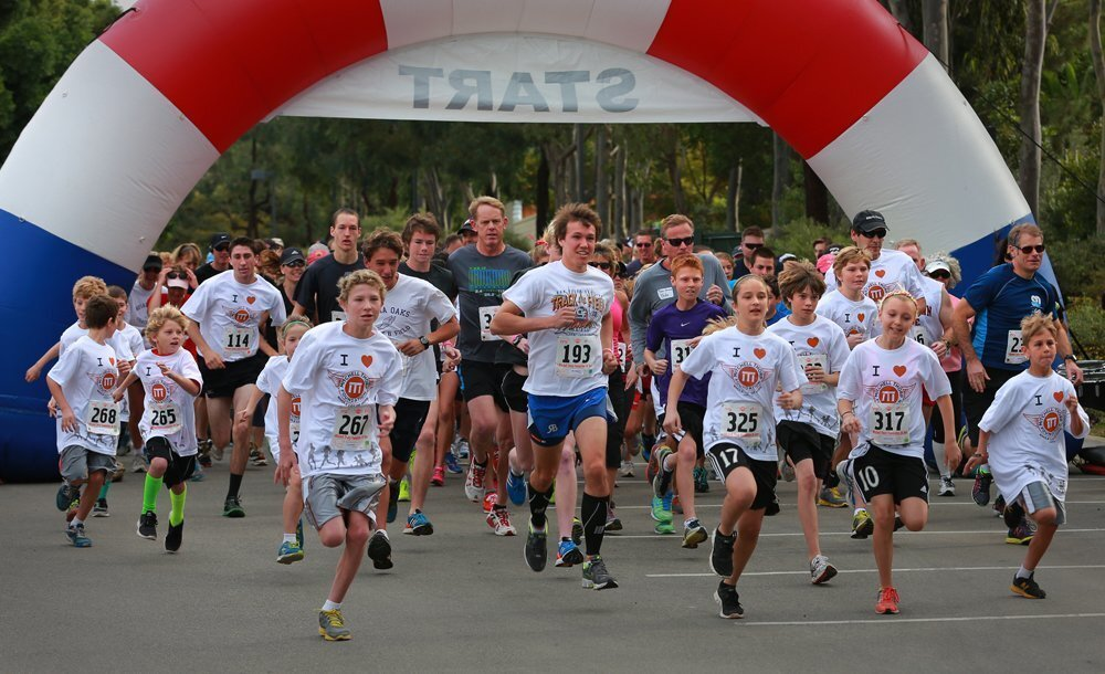 The fourth annual Mitchell Thorp Foundation 5K run/walk brought a crowd of supporters and participants to Poinsettia Community Park in Carlsbad Saturday morning. The foundation gives support to families dealing with childhood illnesses.