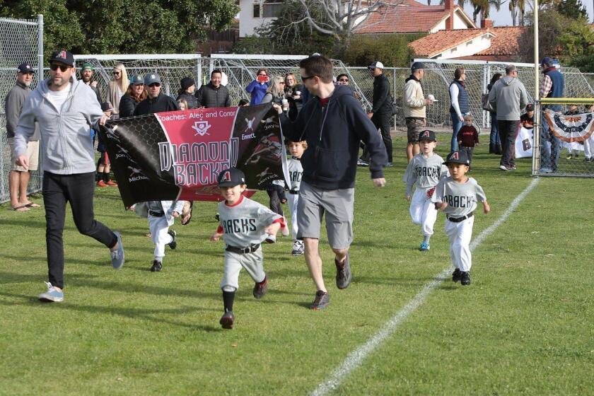 Solana Beach Little League Opening Day