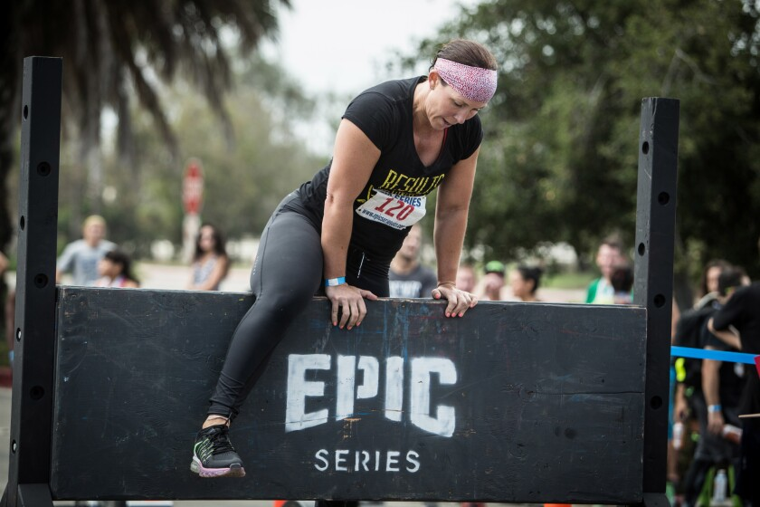 EPIC Series Obstacle Challenge.