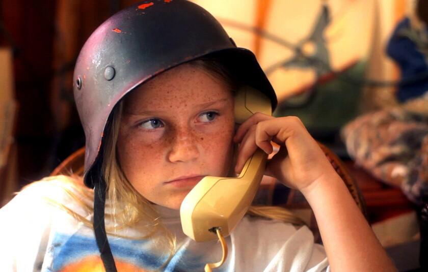 """Sydney Aguirre in """"Kid Thing."""""""