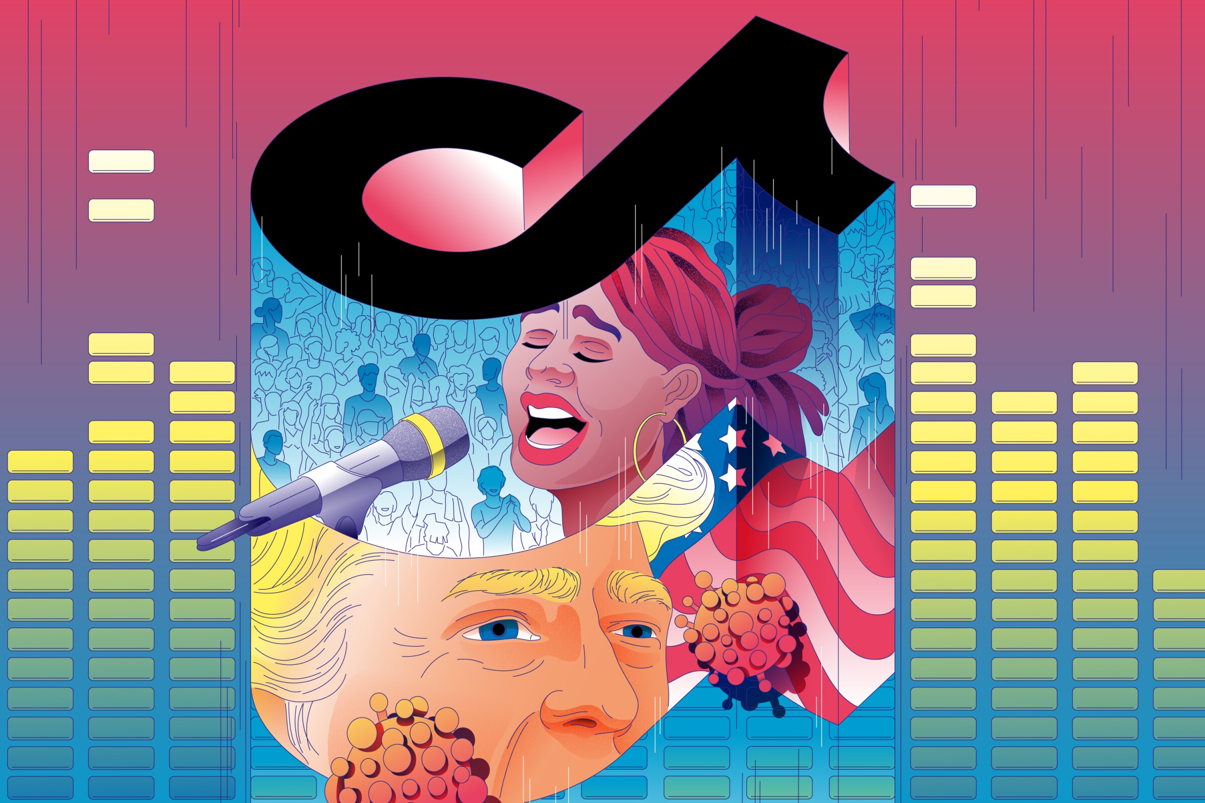 Trump target TikTok has upended the music business.
