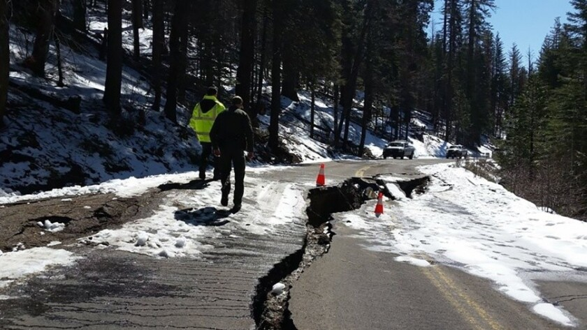 State Route 120 will be closed indefinitely for repairs, forcing Yosemite Valley-bound drivers to detour via State Route 140.
