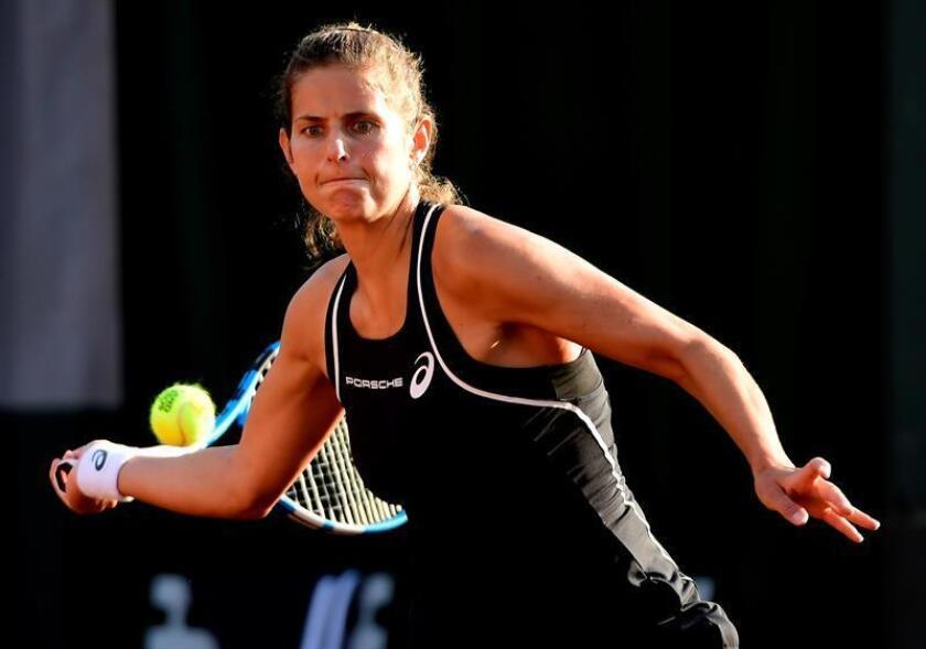 En la imagen, la tenista alemana Julia Goerges. EFE/Archivo